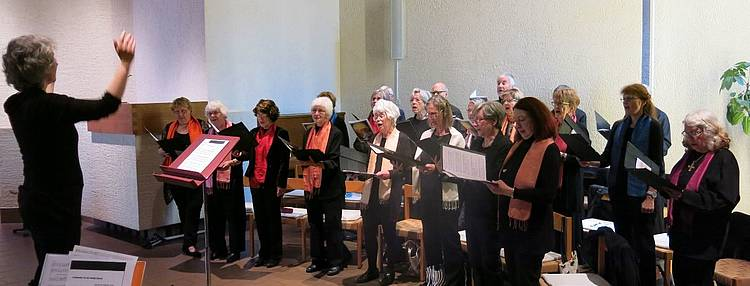 Unser Chor an Ostern 2017